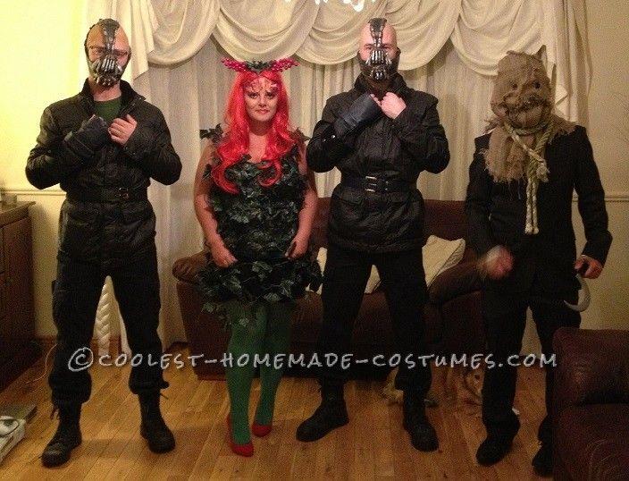 Coolest Batman Villains Group Costume Poison Ivy Bane Scarecrow... This website is the Pinterest of costumes  sc 1 st  Pinterest & Coolest Batman Villains Group Costume: Poison Ivy Bane Scarecrow ...