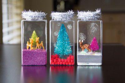 Miniature Waterless Snowglobes Craft Just Add Cheer Michaels