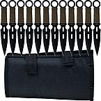 Whetstone Cutlery Force Kunai 12 set Throwing knives