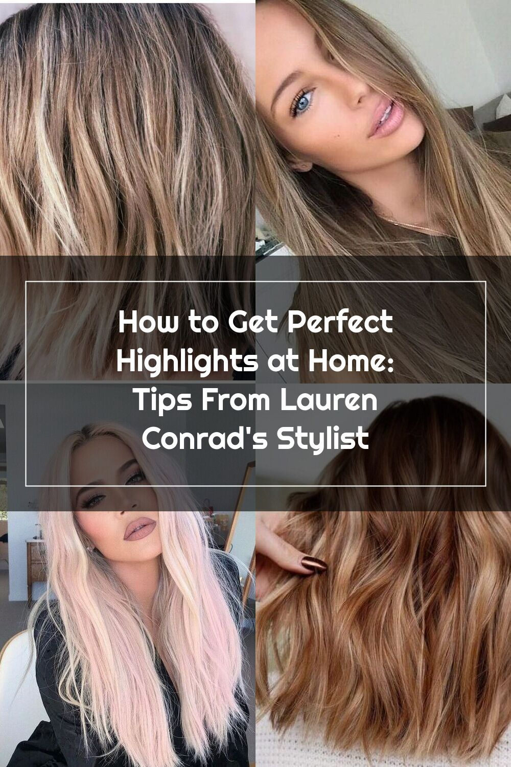 how to make washable highlights