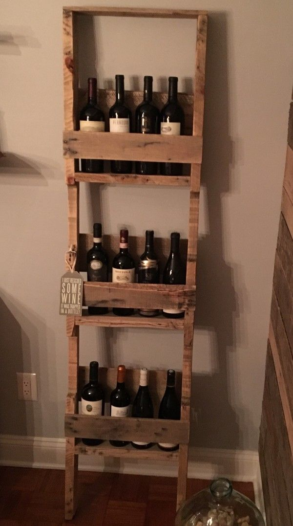 Ladder Style 12 Bottles Wine Rack Wine Rack Shelf Wine Shelves Wine Rack