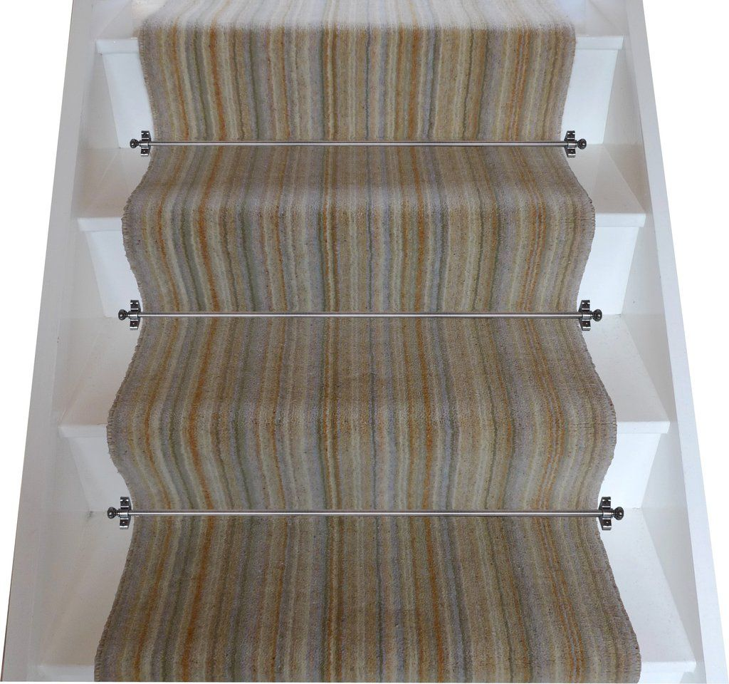 Best Brintons Carpets Pure Living Sandalwood Strata Stair 400 x 300