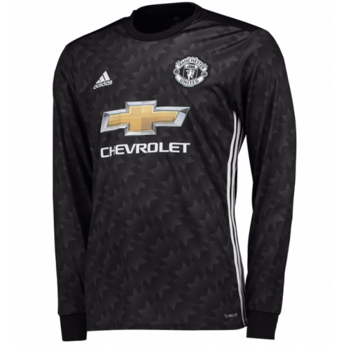 Manchester United Away Long Sleeved Shirt Soccer Jersey - Cheap Football  Shirts Store