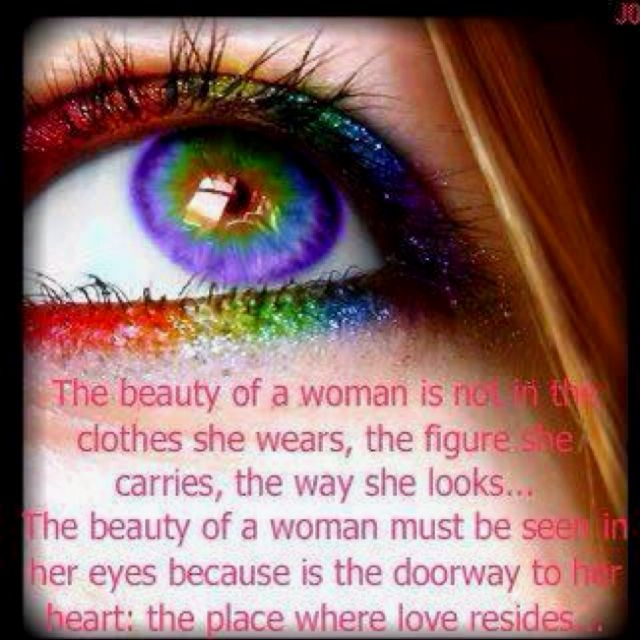 Beauty is in the eyes of the beholder!