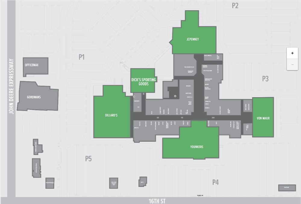 Southpark Mall Moline Shopping Plan Moline Concept Architecture