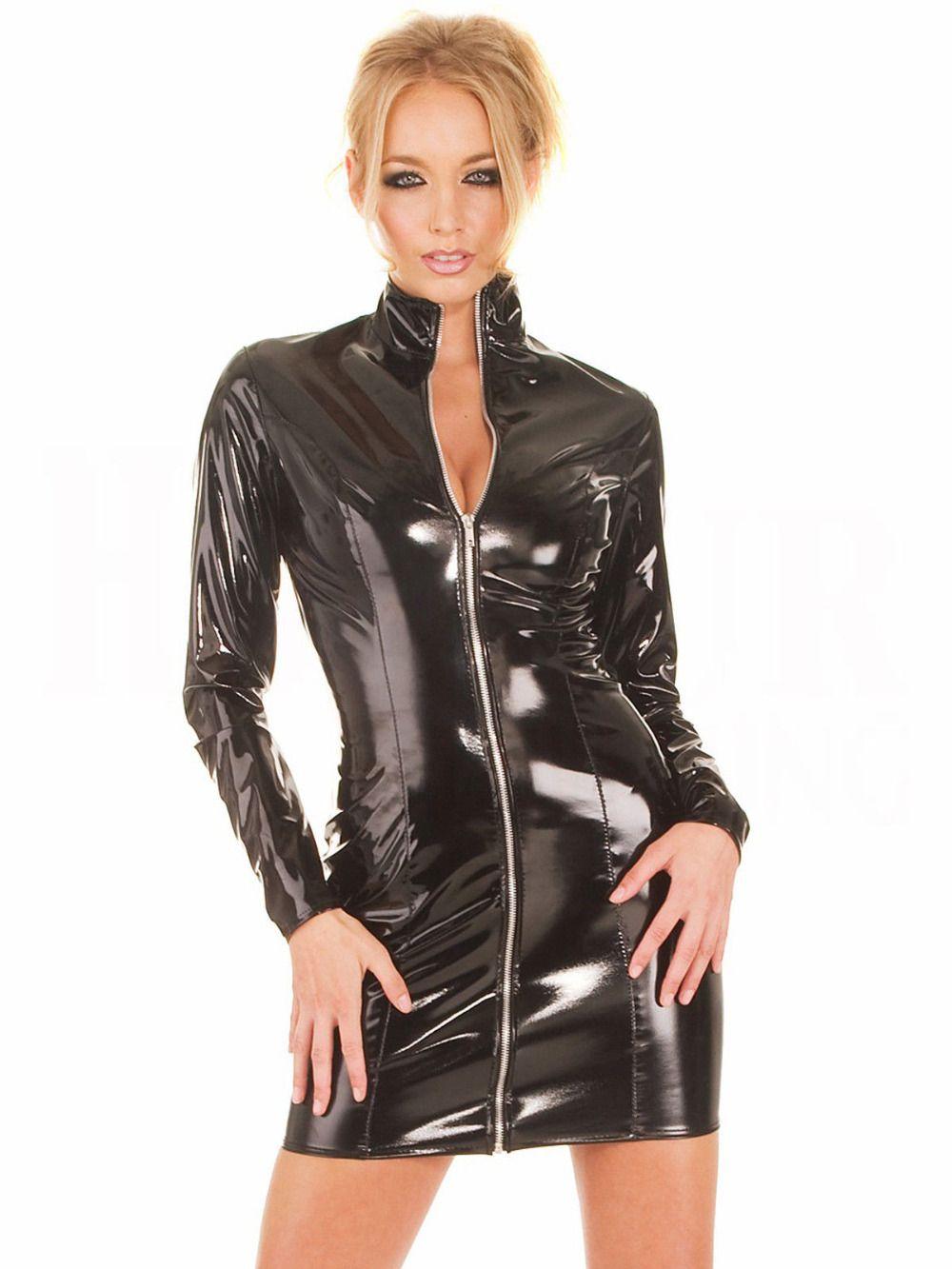 Popular Long Vinyl Dress-Buy Cheap Long Vinyl Dress lots from ...