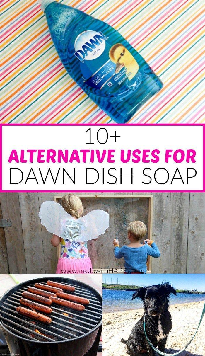 Alternative Uses For Dawn Diy Bath Soaps Dawn Dish Soap Clean