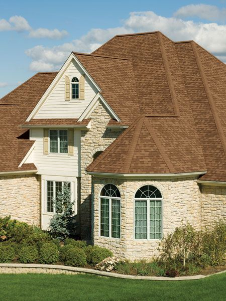 Pin By Triciav On Yard House Paint Exterior Brown Roof Houses Architectural Shingles