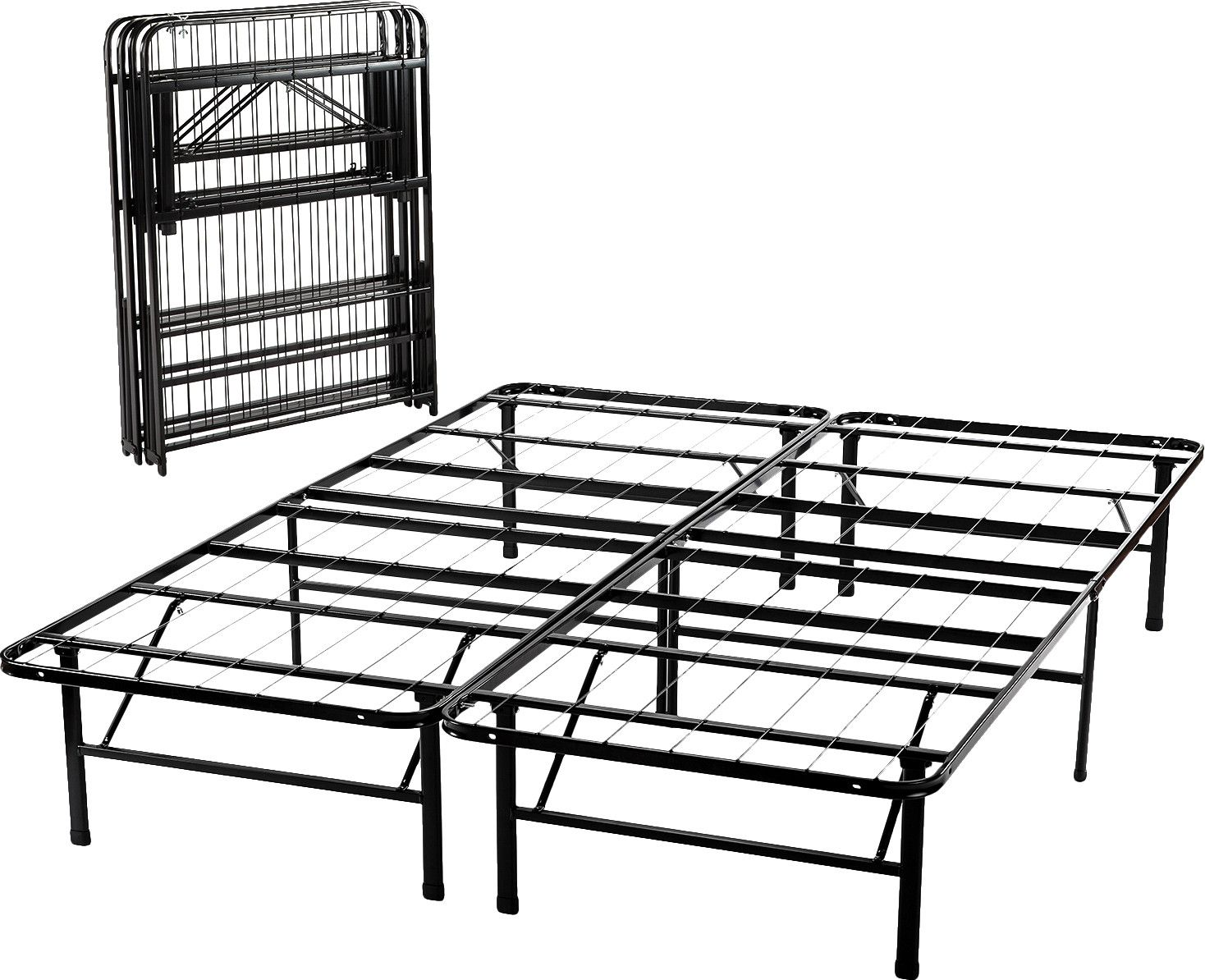 Mattress Foundation Platform Bed Frame Steel Bed Frame Folding Bed Frame Platform Bed Frame