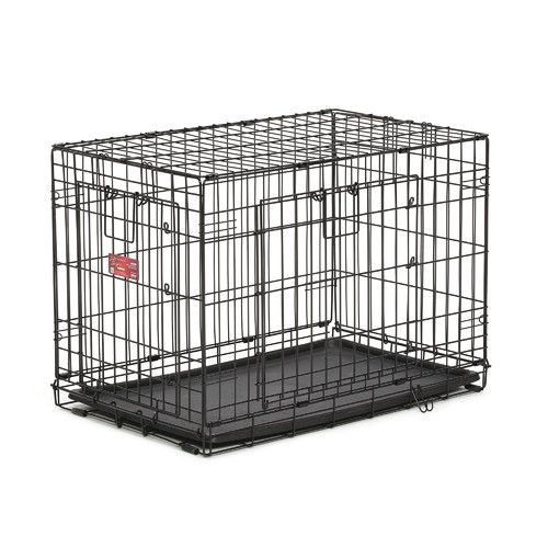 Midwest Homes For Pets Life Stages A C E Pet Crate Reviews Wayfair Dog Crate Wire Dog Crates Large Dog Crate