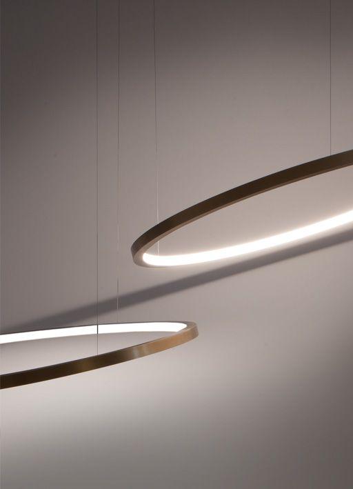 Viabizzuno c2 anelli lighting lighting lighting design e ceiling lights - Lampada luna ikea ...