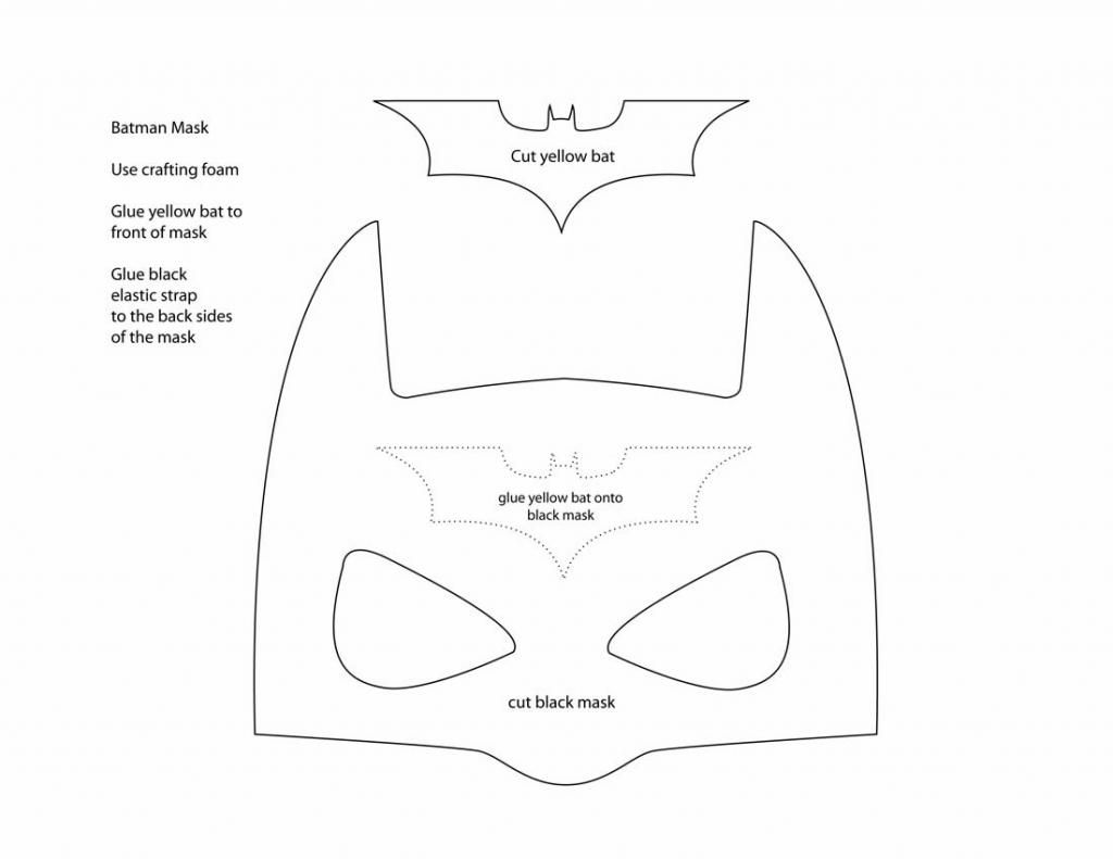 A Thousand Phases: Make your own Batman Mask | Birthday ideas ...