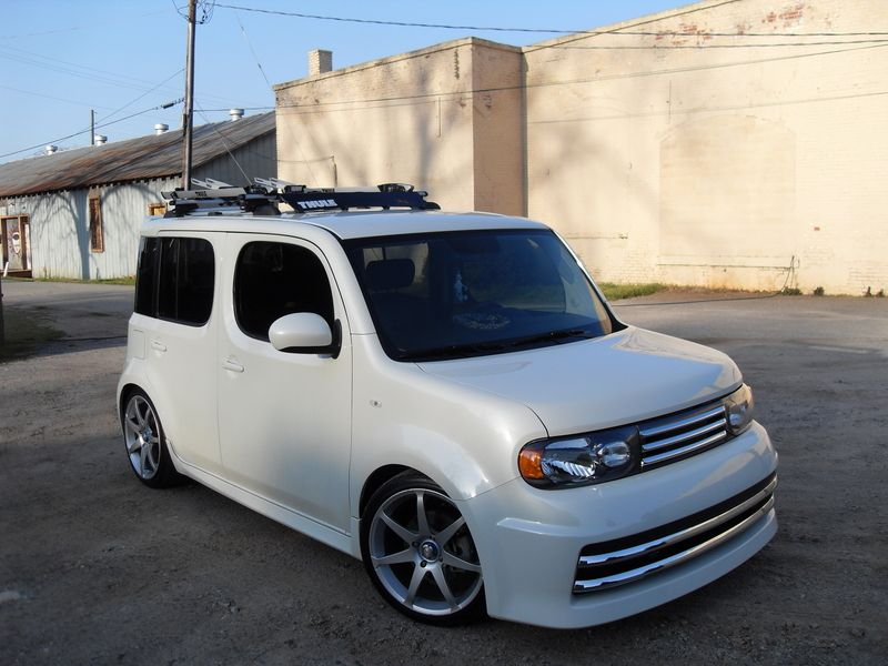 dropped nissan cube