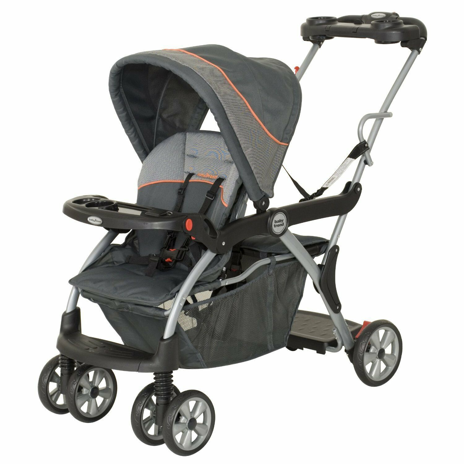 Baby Trend Sit N Stand Deluxe Double Stroller Vanguard Best Affordable Price Stroller Ba In 2020 Baby Trend Double Stroller Baby Strollers Baby Stroller Reviews