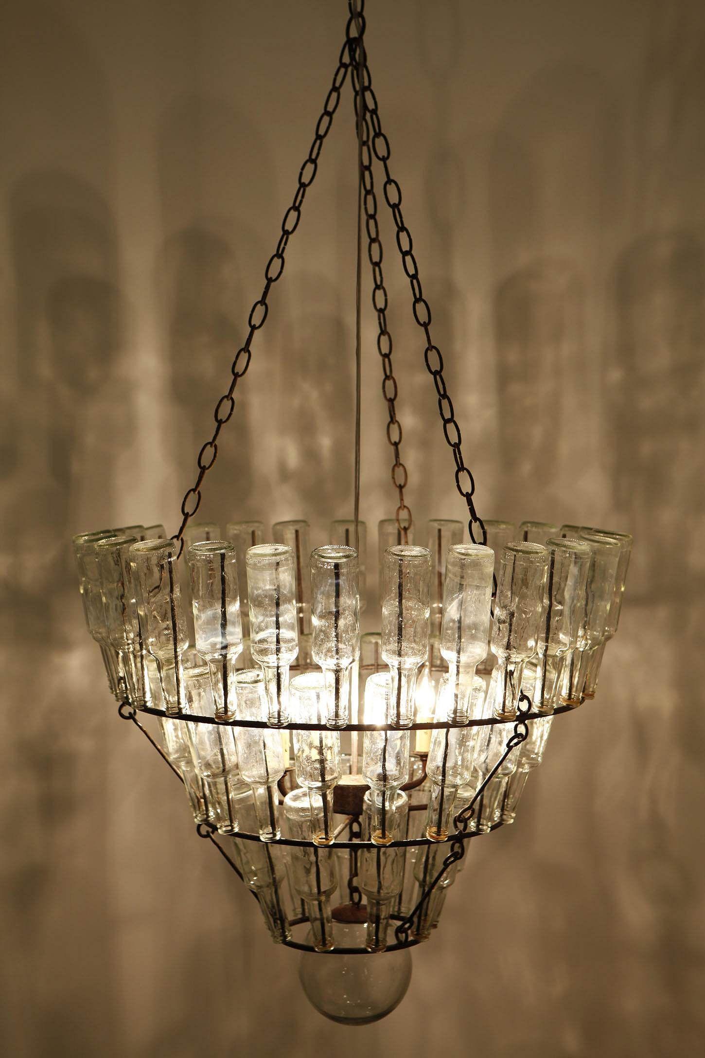 Soda jerk chandelier bottle chandeliers and glass soda jerk chandelier arubaitofo Images