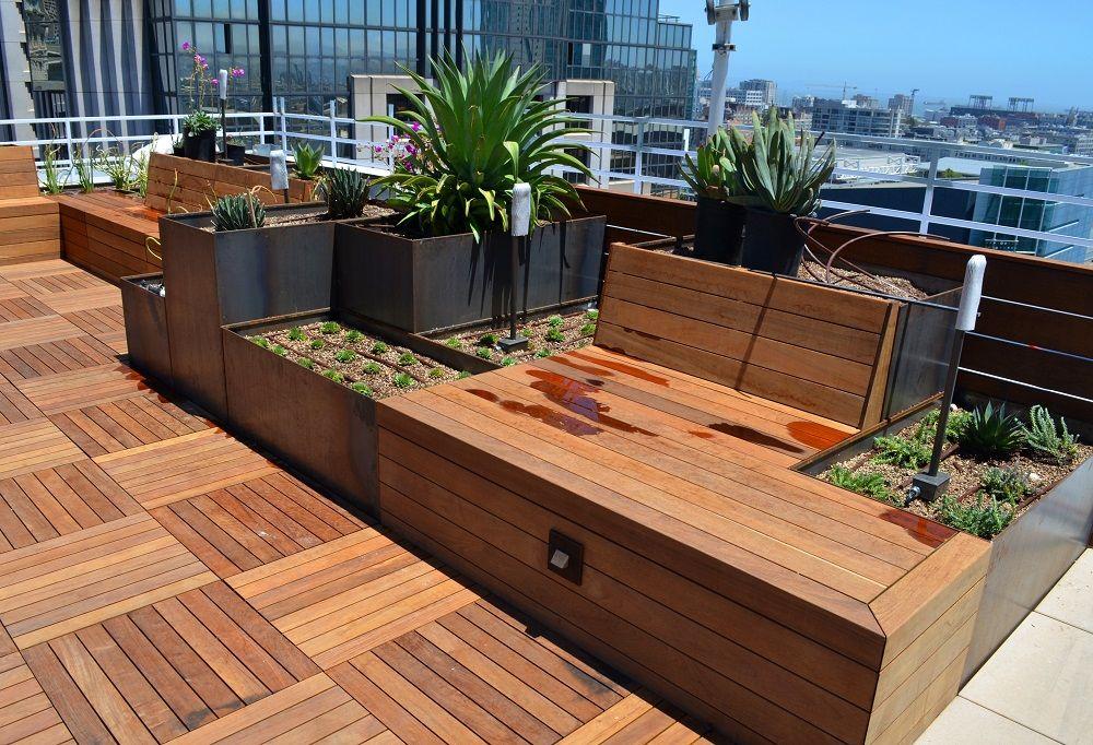 Roof Terrace  – Nice Planter LLC
