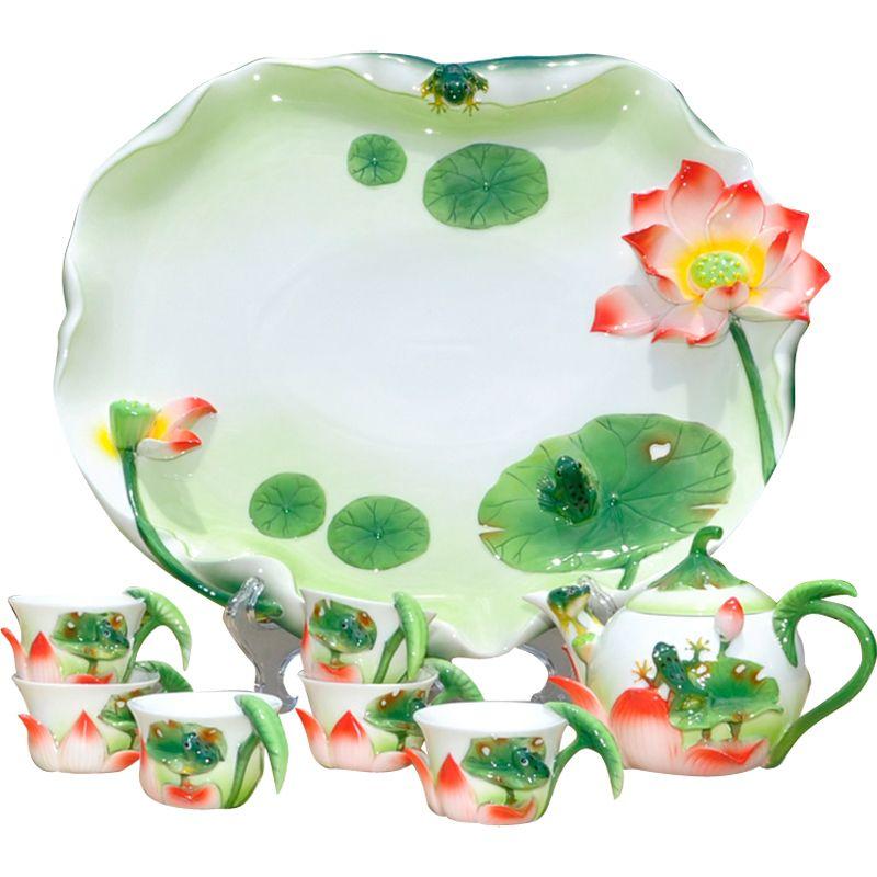 الشحن-مجانا-هدية-الزفاف-المينا-الخزف-مجموعة-الشاي-السيراميك-الكونغ-فو-الشاي-تعيين-مجموعة-صينية.jpg (800×800)