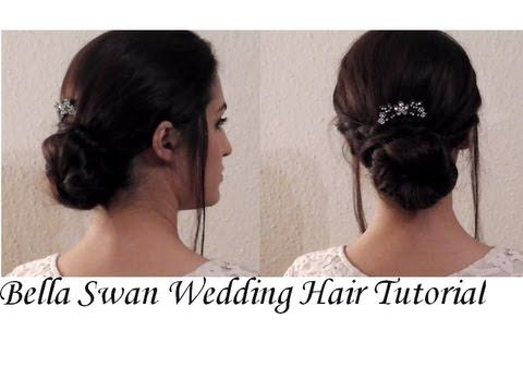 Bella Swan Wedding Hair Inspired Tutorial