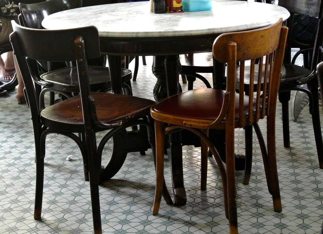 Kopitiam Table And Chairs Dining Table Marble Marble Tables Design Round Marble Dining Table