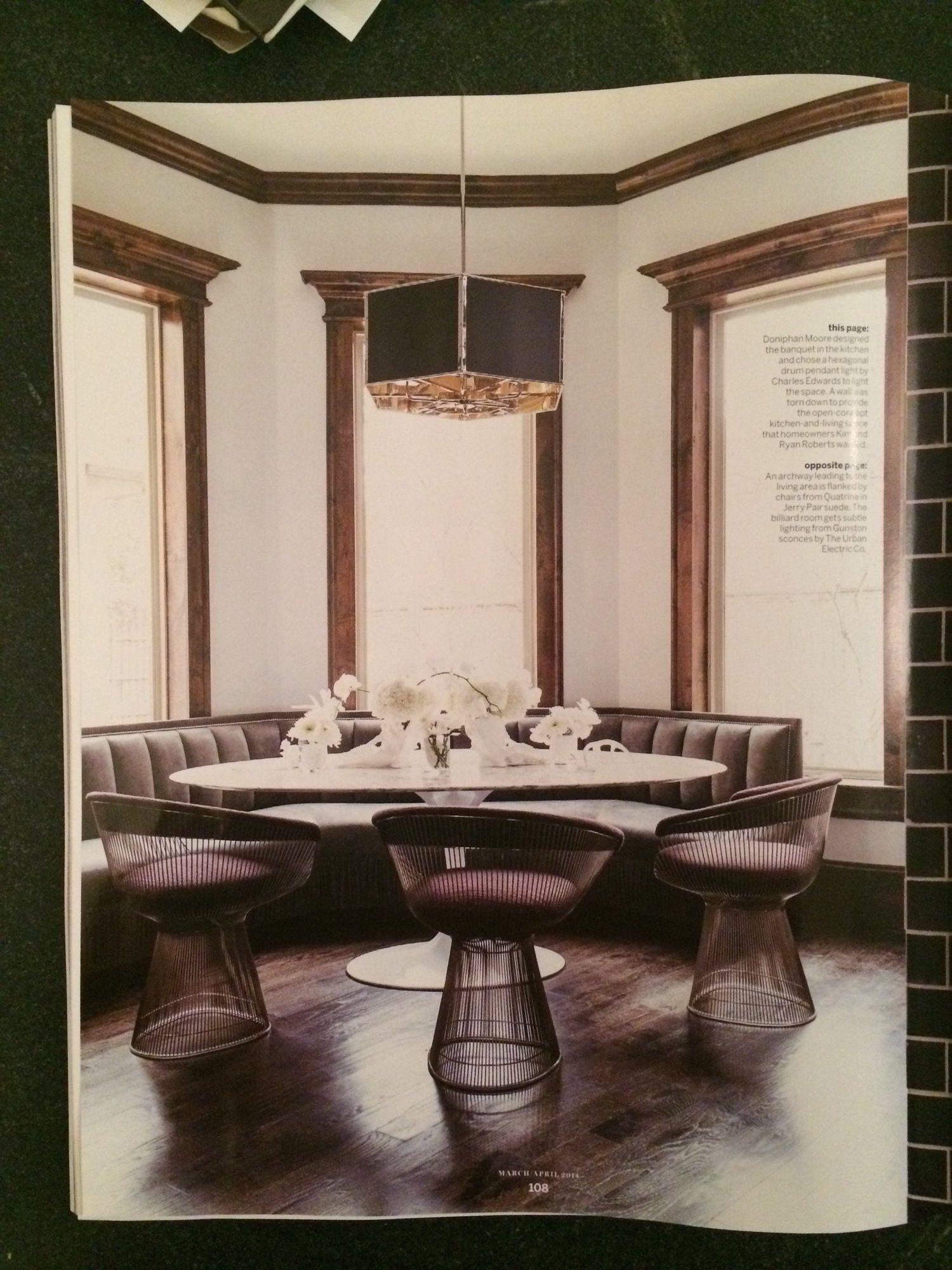Custom Leather Banquette — DRIFT Nashville | Custom ...