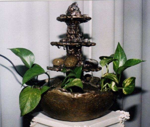 Fuente de agua realizada en pasta piedra fuentes de agua - Fuentes de piedra ...