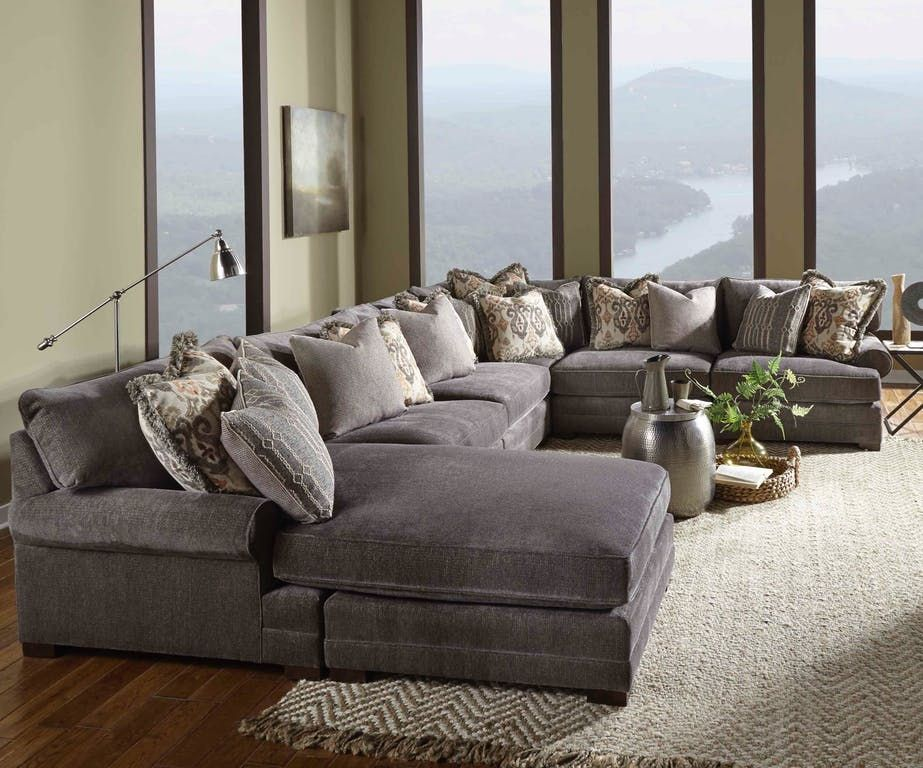 Casbah Deep Pit Group Large Sectional Sofa Large Sectional Living Room Furniture