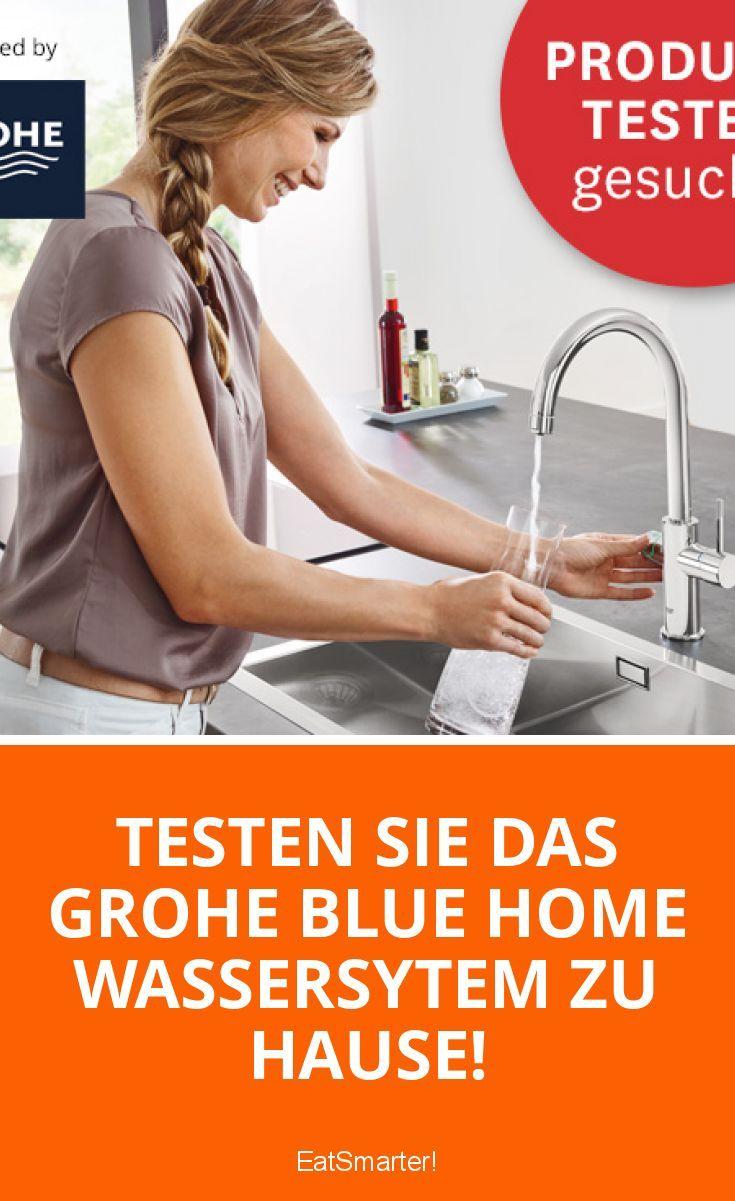Testen Sie das GROHE Blue Home Wassersytem zu Hause! | eatsmarter.de