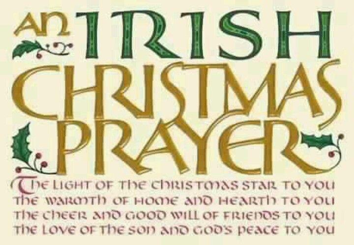 Merry Christmas In Irish.An Irish Christmas Prayer Ireland Irish Christmas