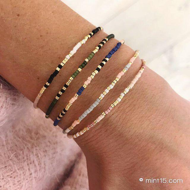 Details about  /BANGLES Set Of 20 Bracelets Genuine LEATHER Gold and Silver Tubes  BRACELETS