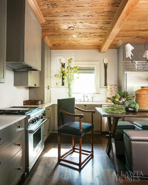 Atlanta Kitchen And Bath: Love The Wormhole Ceiling Bobby McAlpine