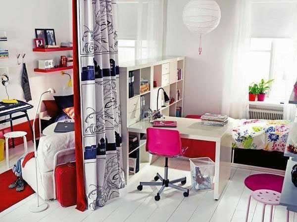 Cómo dividir habitaciones infantiles compartidas | Pinterest ...