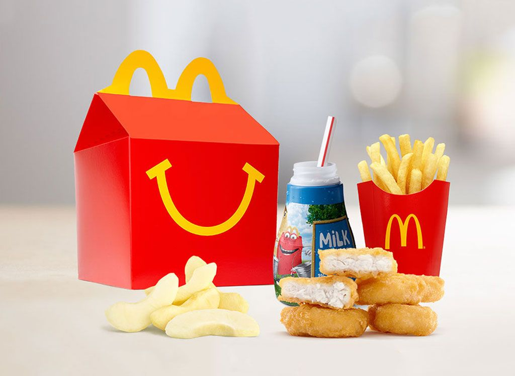 100 Most Popular Fast Food Items Eat This Not That Happy Meal Mcdonalds Mcdonalds Fast Food Happy Meal Box