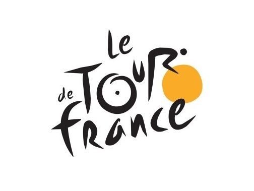 Tour De France: Can you spot the cyclist in the Tour de France logo? We sure can, and truth be told, the yellow circle is supposed to represent the sun which notes that the stages of the cycling event only takes place during the daytime.