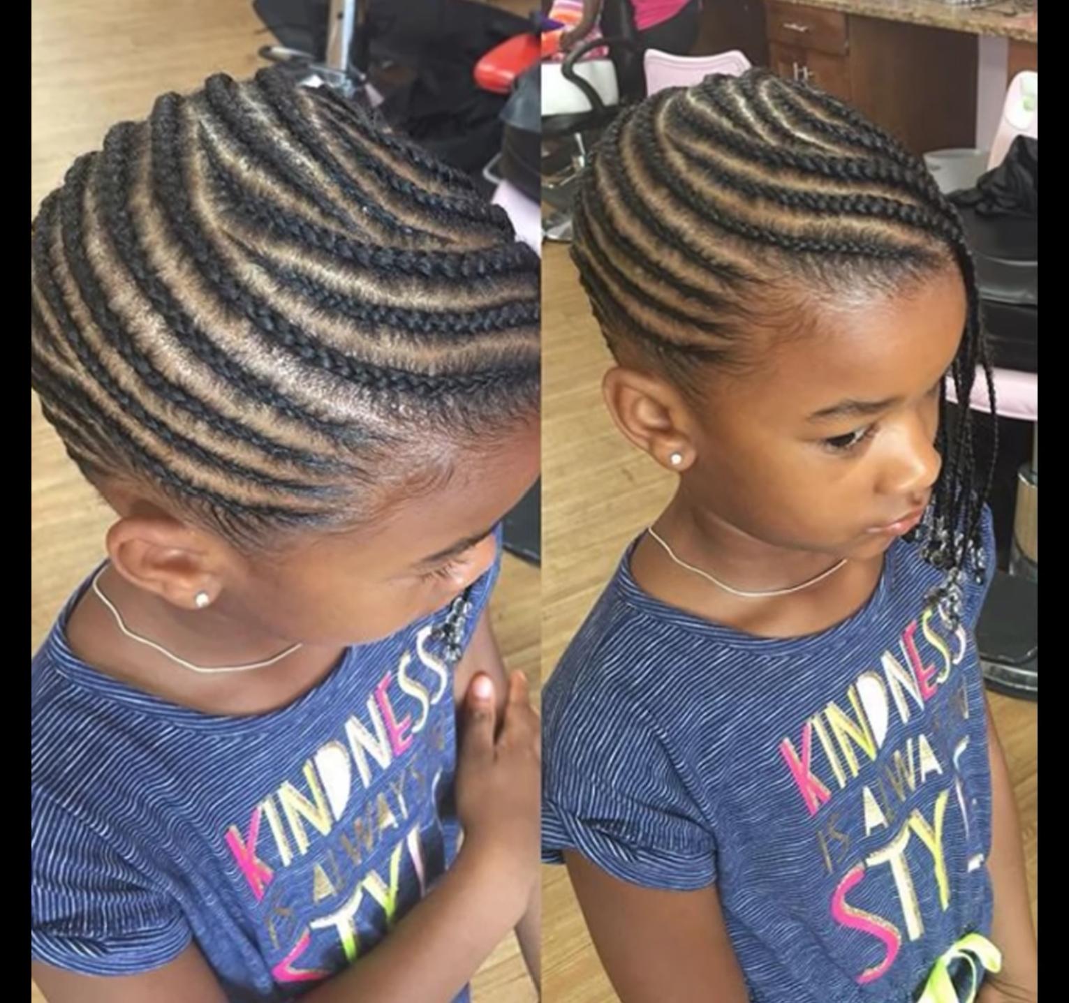 Pin By Bukola Onigbinde On Queensdelighthair Kids Hairstyles Hair Styles Black Kids Braids Hairstyles