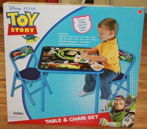 Disney Toy Story Table & Chair Set by Disney. $44.99. Metal Chair ...