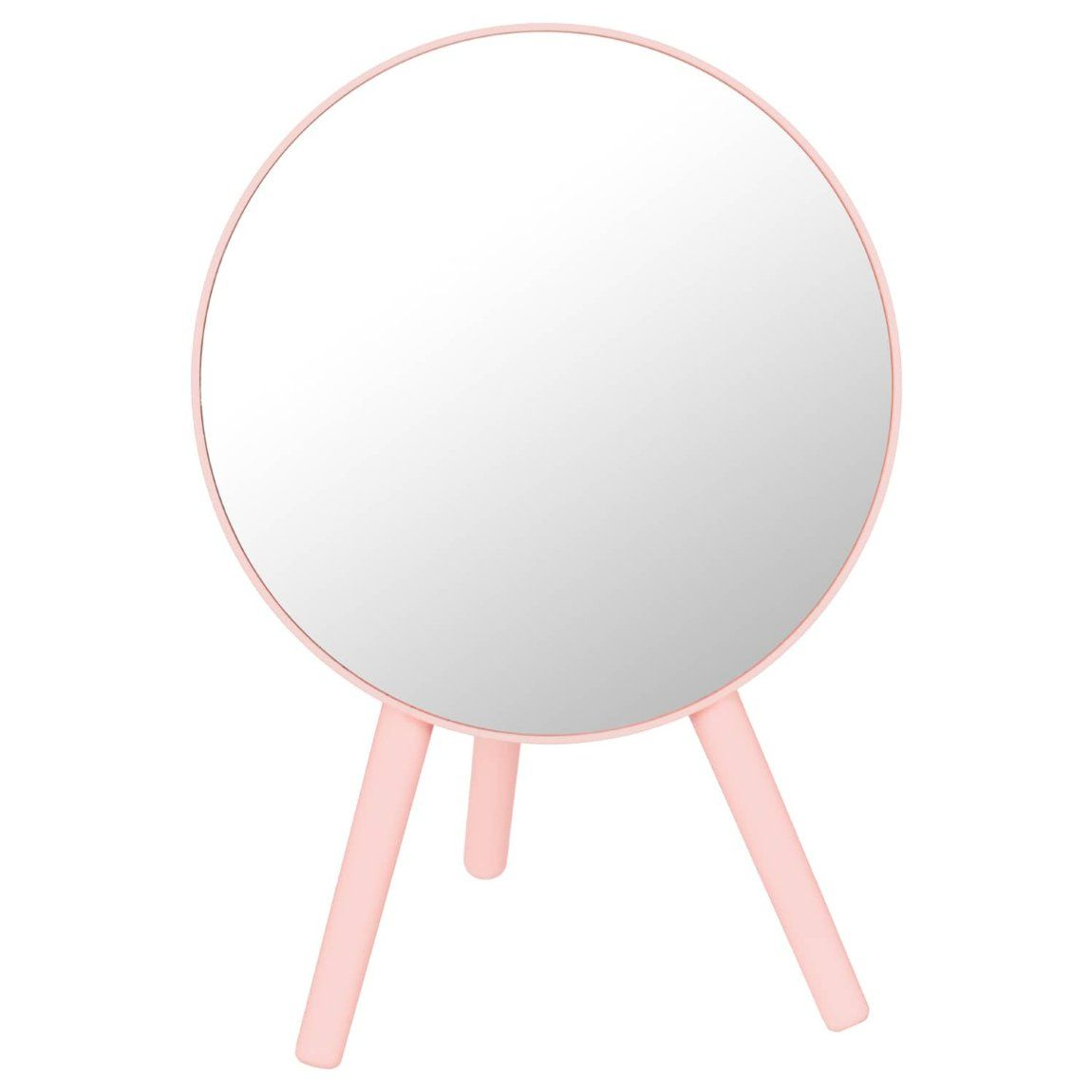 Rounded Free Standing Mirror Blush In 2020 Standing Mirror Mirror Free Standing