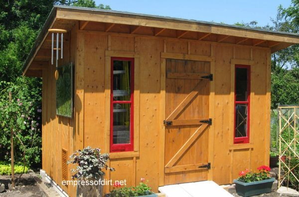 Charming Garden Sheds From Rustic to Modern Gardens, Doors and