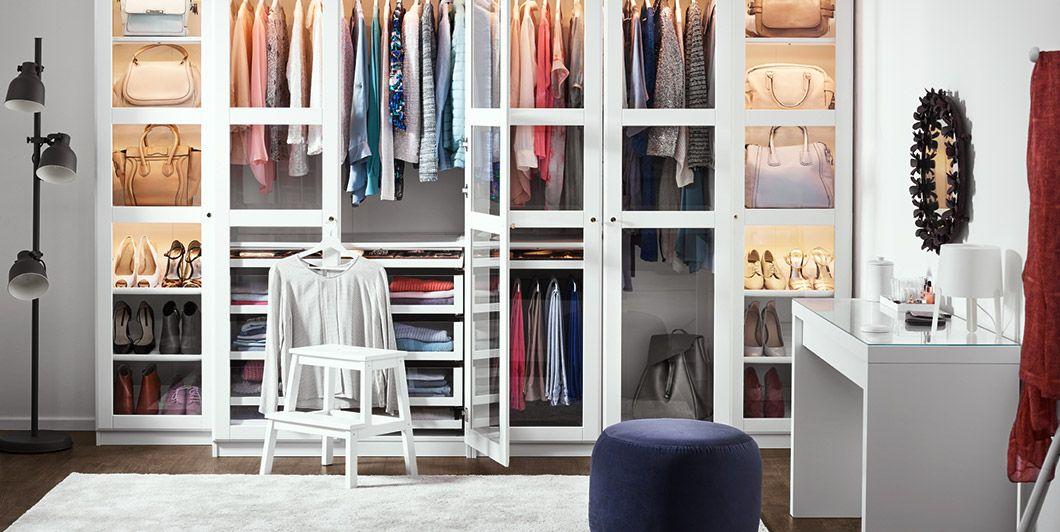 Die Schönsten Ideen Für Dein Ikea Schlafzimmer In 2019: PAX Kleiderschrank Für Schlafzimmer In 2019
