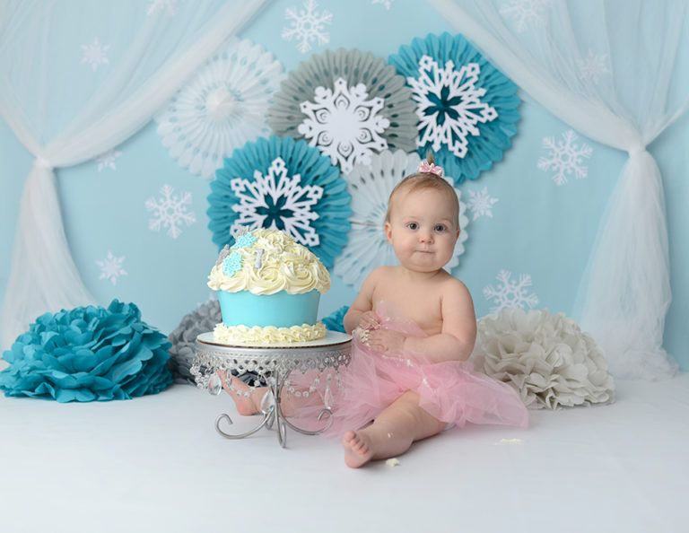 newborn photographer ohio_ baby pose _ smash cake _1st