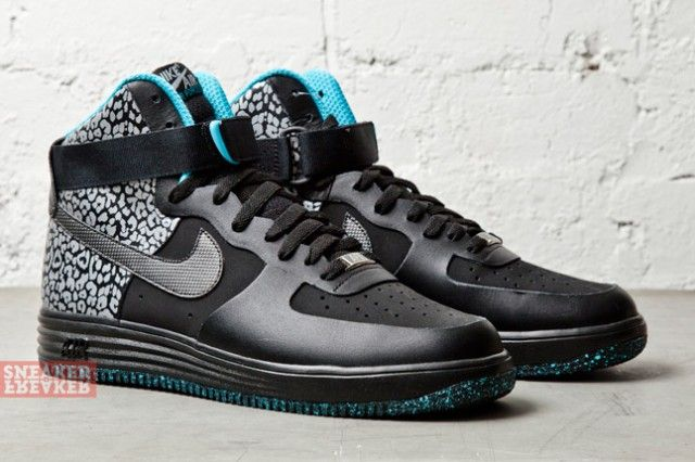 "Nike Lunar Force 1 High No Sew ""Black Leopard"""