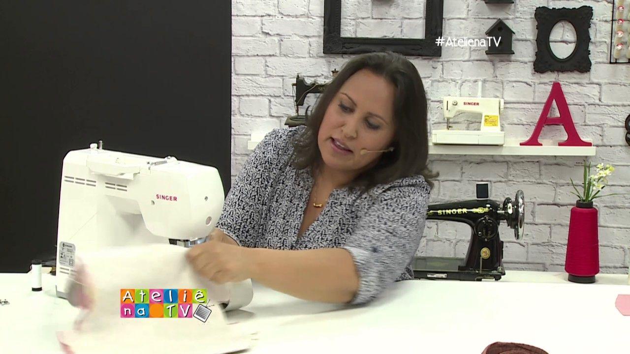 Ateliê na TV - 13.01.2017 - REDE VIDA - Mayumi Takushi e Fábia Marchetti