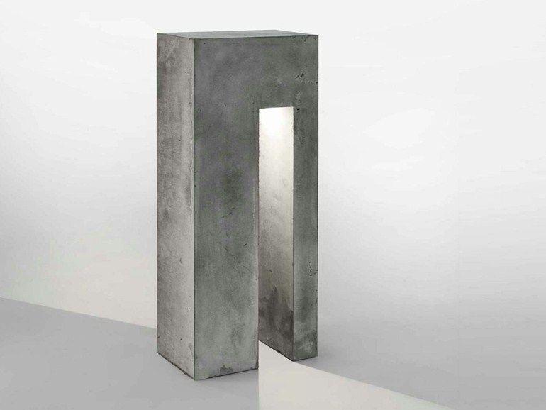 Cemento By Monolyte Lámpara De Lucifero'sConcreto Pie doerBxEQCW