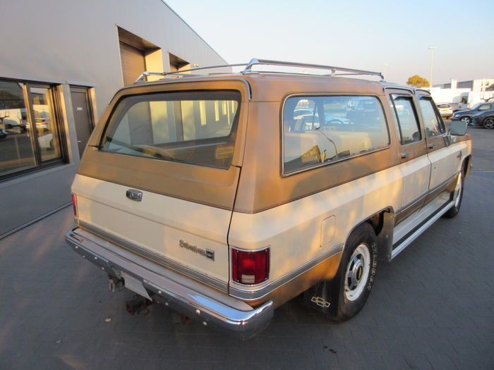 Chevrolet Suburban Scottsdale 20 1985 Chevrolet Suburban