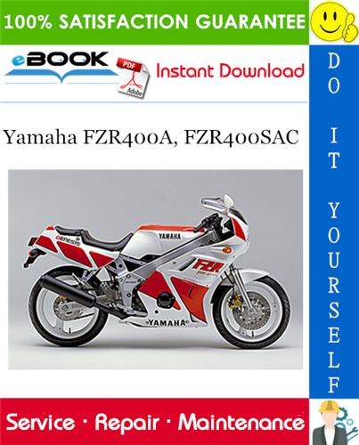 Yamaha Fzr400a Fzr400sac Motorcycle Service Repair Manual In 2020 Repair Manuals Yamaha Repair