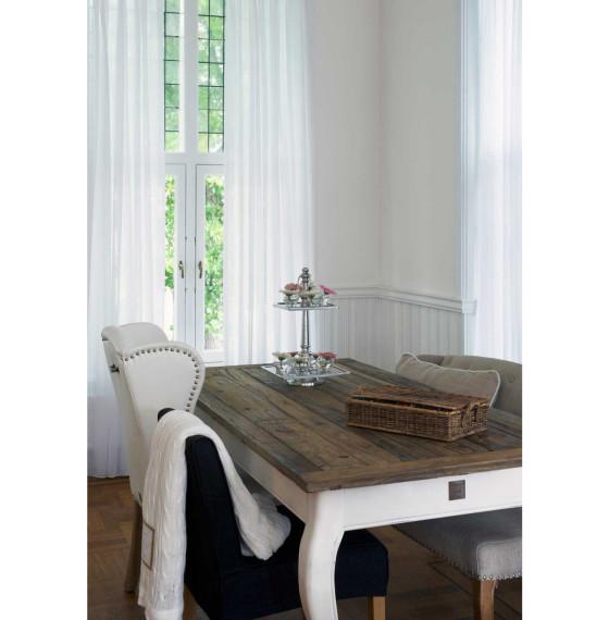 Rivièra Maison Driftwood Dining Table 160 x 90 Gardinen