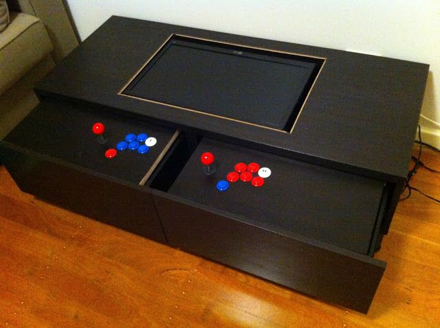 Mame Coffee Table.Diy Arcade Machine Coffee Table In My House Coffee Table Arcade