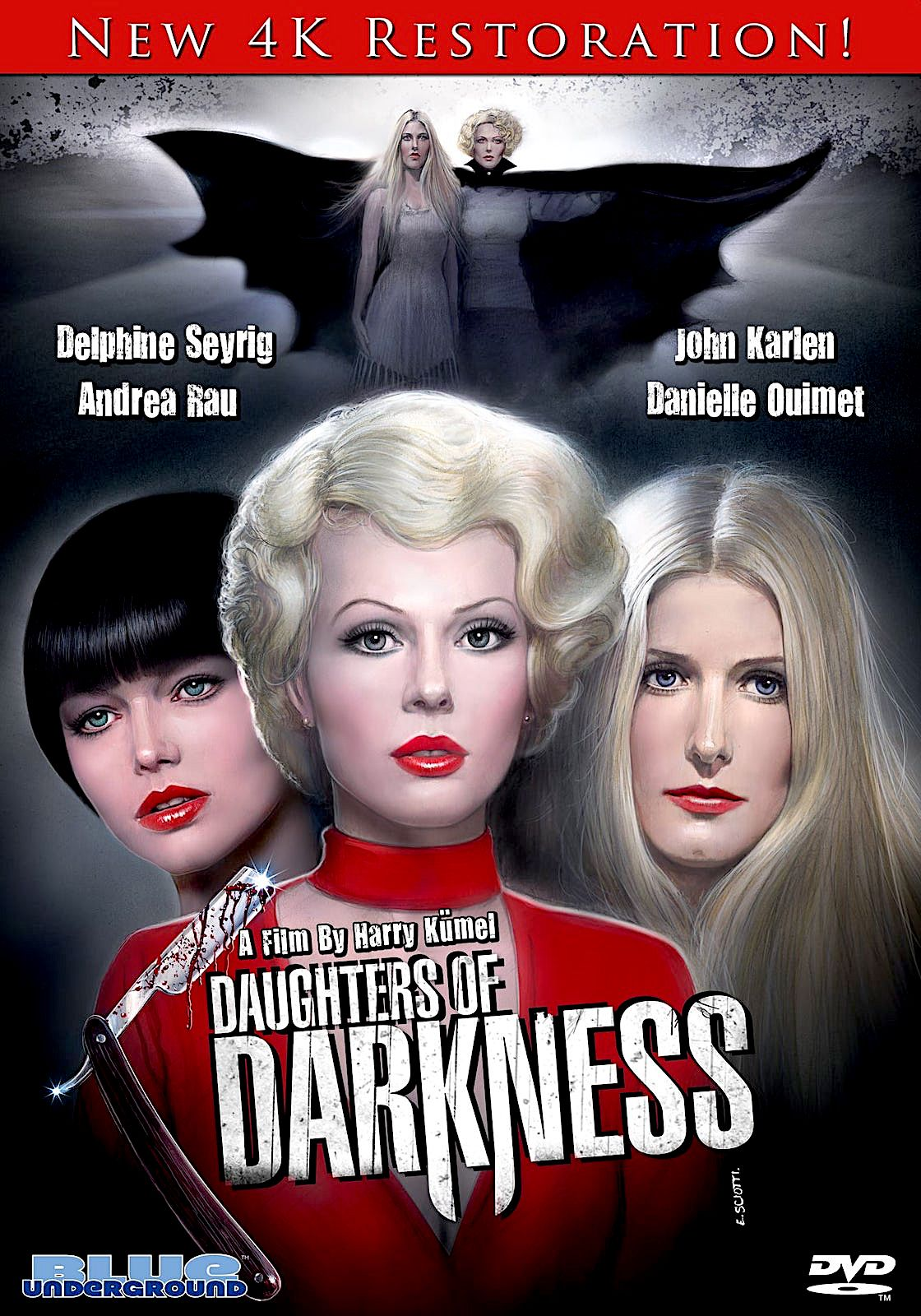 Daughters Of Darkness 4k Dvd Blue Underground In 2020 Blu Best Classic Movies Elizabeth Bathory