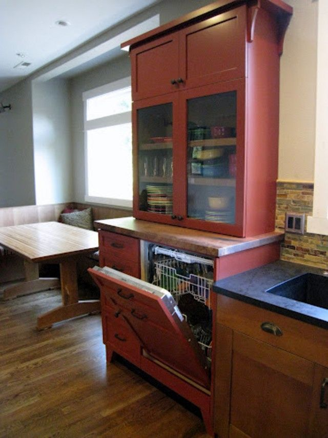 Raised Dishwasher Kitchen Pinterest Kitchen Cabinet Remodel Kitchen Dishwasher Home Decor Kitchen