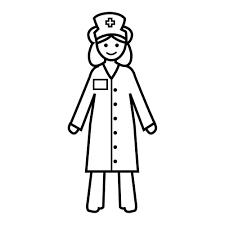 Resultado De Imagen Para Imagenes Para Colorear De Un Hospital Enfermera Actividades Escolares Lenguaje Expresivo