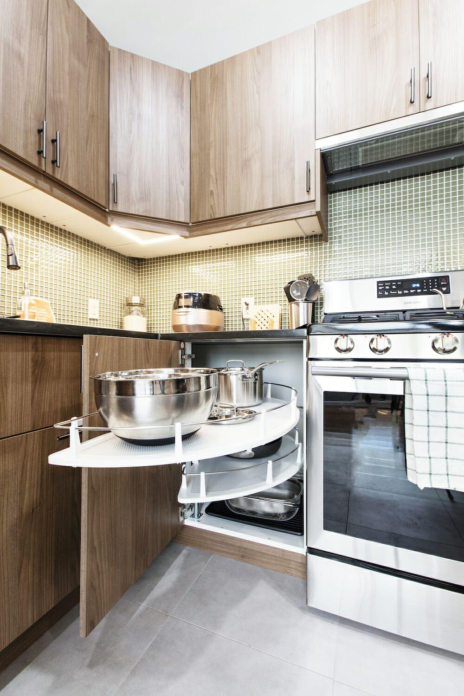 A Kitchen Gets A New Layout In Flushing Queens Kitchen Renovation Kitchen U Shaped Kitchen